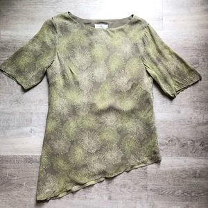 Coldwater Creek silk blouse size 14